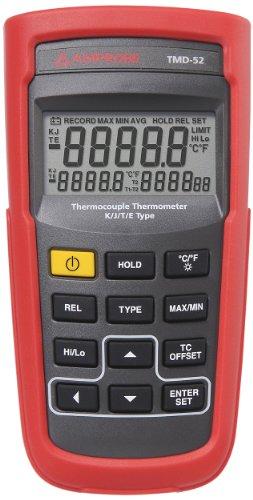 Price comparison product image Amprobe TMD-52 Thermometer K/J/T/E-Type