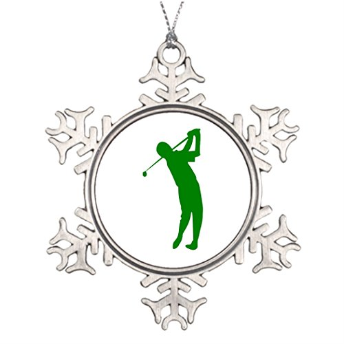 Ideas For Decorating Christmas Trees Golf Photo Snowflake Ornament Club De (Golf Club Decorating Ideas)