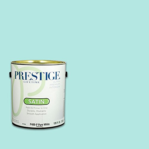 Aqua Green Pool Paint - Prestige, Greens and Aquas 6 of 9, Interior Paint and Primer In One, 1-Gallon, Satin, Shallow Pool