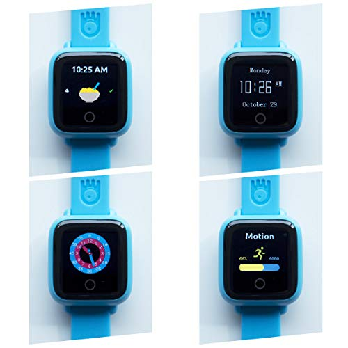 New! Octopus Watch v2 Motion Edition Teaches Kids Good Habits & Time - Encourages Active Play - The First Icon-Based Kids Smartwatch and Fitness Tracker (Blue) by Octopus by JOY (Image #5)