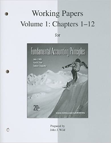 Working papers print vol 1 ch 1 12 for fundamental accounting 1 ch 1 12 for fundamental accounting principles 20th edition fandeluxe Choice Image