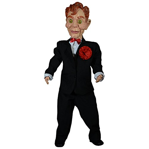 Scary Ventriloquist Dummy Costumes - TrickOrTreatStudios Goosebumps Slappy The Dummy Puppet