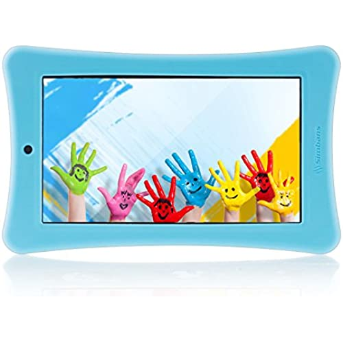 Simbans Funlet Blue 7 Inch Tablet for Kids Bundle - IPS screen, HDMI, 1GB RAM, 8GB disk, WiFi, Android 5.1 Lollipop Coupons