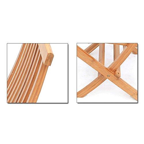 WANGXIAOLIN Folding Chair Dining Chair Portable Bamboo Chair Fishing Chair Folding Chair (Size : 45cm90cm) by WANGXIAOLINzhediedeng (Image #2)