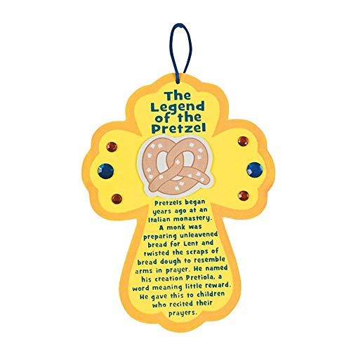 The Legend of the Pretzel Sign Craft Kit by Fun Express
