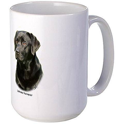 CafePress - Labrador Retriever 9A054D-23A - Coffee Mug, Large 15 oz. White Coffee Cup - Labrador Coffee