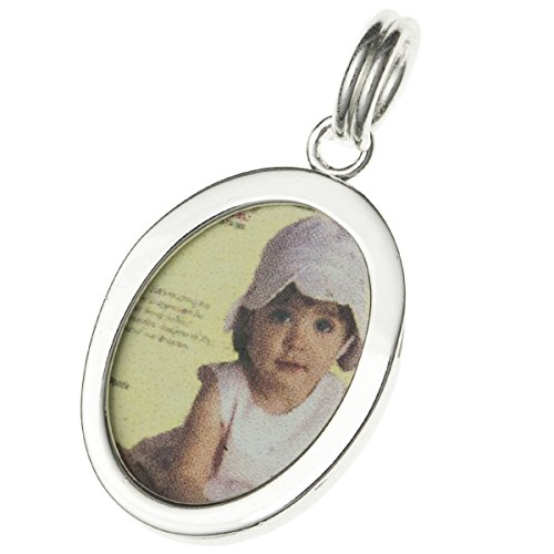Sterling Silver 4 Picture Photo - Dreambell .925 Sterling Silver Sweet Memory Picture Holder Photo Frame Dangle Charm Pendant