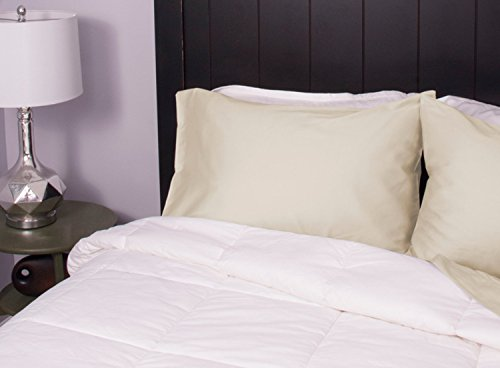 """Clearance Sale - Luxury Light Weight Down Comforter - Hotel Collection - 525 To 550 Fill Power - Perfect For Summer - Made In The USA - King Size Only 107"""" x 98"""""""