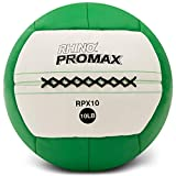 Champion Sports Rhino Promax Slam Balls, 10 sizes, Soft Shell with Non-Slip Grip - Medicine Wall Ball for Slamming, Bouncing, Throwing - Exercise Ball Set for Crossfit, TRX, Plyometrics, Cross Training