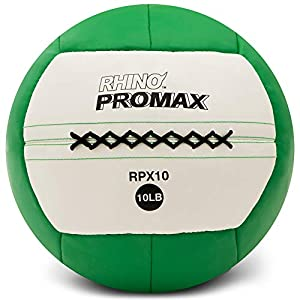 Champion-Sports-Rhino-Promax-Slam-Balls-Soft-Shell-with-Non-Slip-Grip-Medicine-Wall-Ball-for-Slamming-Bouncing-Throwing-Exercise-Ball-Set-for-Crossfit-TRX-Plyometrics-Cross-Training