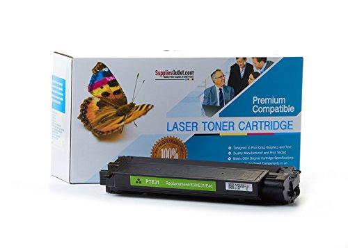 E40 Black Cartridge (SuppliesOutlet Canon 1491A002AA (E31/E40) Compatible Toner Cartridge - Black - [1 Pack] For FC-100, FC-120, FC-200, FC-220, FC-224, FC-224S)