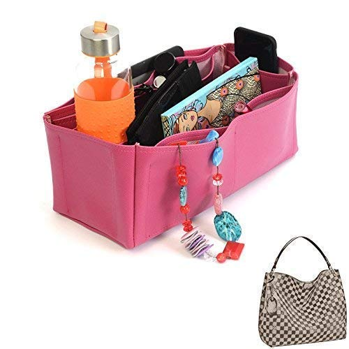 5331b720c222 Amazon.com  Graceful MM Deluxe Leather Handbag Organizer