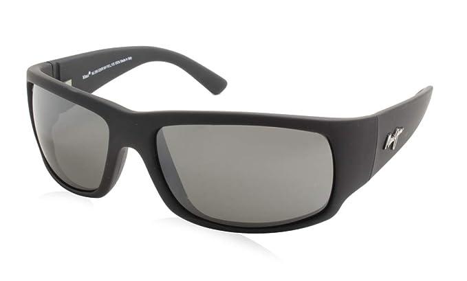 Maui Jim - Gafas de sol - para hombre Matte Black Rubber 64 ...
