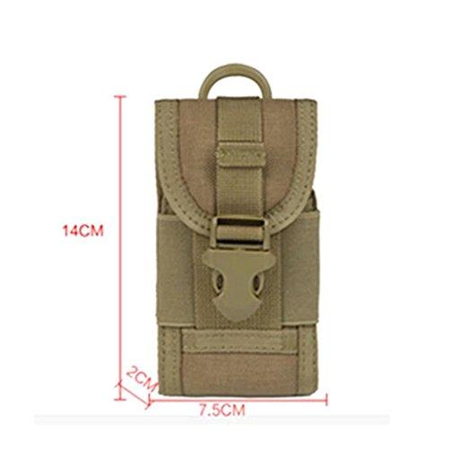 Beliebt Camo Tasche Multifunktion Handy Paket Außen Taille Hängetasche Khaki