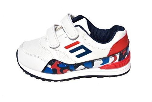 TMX 1869elegante niños zapatillas en color blanco tamaño: 18/36 Varios Colores - blanco