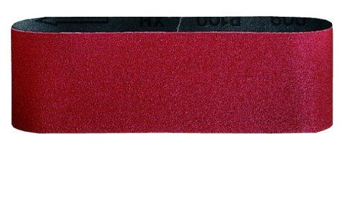 Red Bosch Professional 2608606142 3-Piece Sanding Belt Set Blue 100 mm x 620 mm