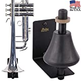 String Swing Trumpet Holder - Stand for Piccolo Pocket and Standard Trumpets - Stand Accessories Home or Studio Wall - Musical Instruments Safe without Hard Cases - Made in USA