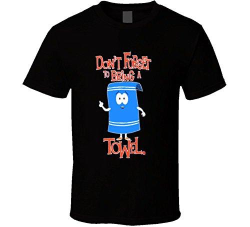 T-Shirt Bandit Towelie Funny Cool South Park T Shirt L (Towelie South Park)