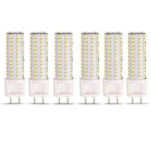 (12W G12 6000K Corn Bulb SMD 108 LEDs, 6 Pack Esbaybulbs Daylight White Color LED Light)