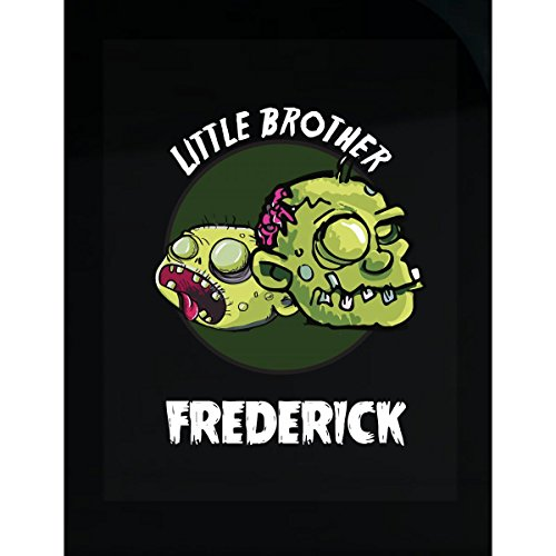 Halloween Costume Frederick Little Brother Funny Boys Personalized Gift - Sticker