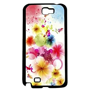 Abstract Flowers Hard Snap On For HTC One M9 Case Cover