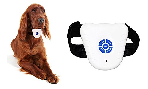 Pet Dog Anti-Bark Ultrasonic Stop Collar by One & Only USA