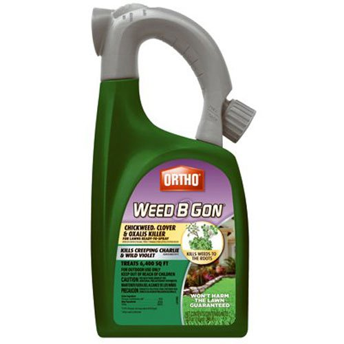 Ortho B Gon Chickweed, Clover & Oxalis Weed Killer for Lawns RTS Trigger (Best Weed Killer To Kill Creeping Charlie)