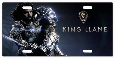 (KING LLANE WRYNN WARCRAFT ALLIANCE Vanity License)
