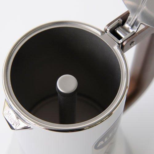Alessi Espresso Maker 9090 by Richard Sapper, 6 Espresso Cups by Alessi (Image #4)