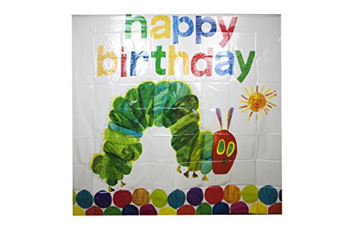 World of Eric Carle, The Very Hungry Caterpillar Party Supplies, Large Picture Wall Decoration -