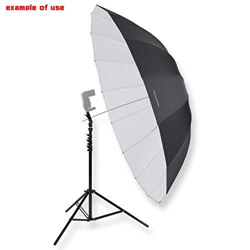 UNPLUGGED STUDIO 70inch White Umbrella (16 Fiberglass Ribs) by UNPLUGGED STUDIO (Image #6)