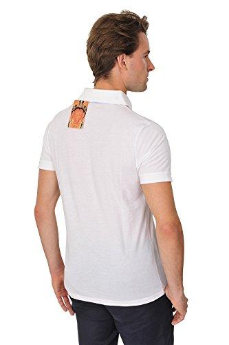 Zegna Baruffa Polo Poloshirt Einfarbig Weiß L