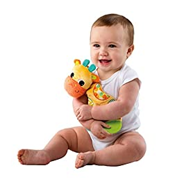 Bright Starts Grab and Spin Rattle & Bright Starts Snuggle Teether