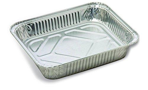 Trinidad Benham Aluminum Foil Half-Size Deep Steam Pans, ...