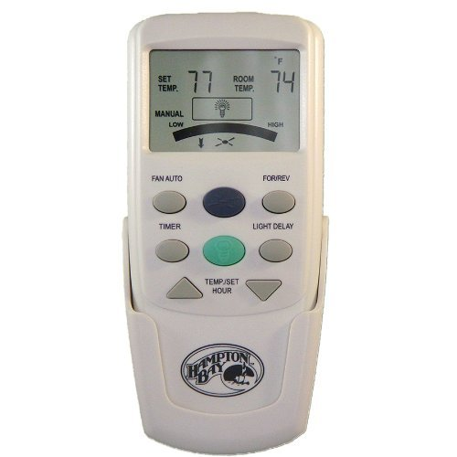 Hampton Bay CHQ7096T Thermostatic Remote Control with Green Light Button