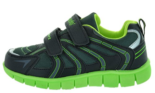 Dream Pairs P40531 Boy's Athletic Velcro Strap Light Weight Running Sneakers Shoes (Toddler/Little Kid/Big Kid)
