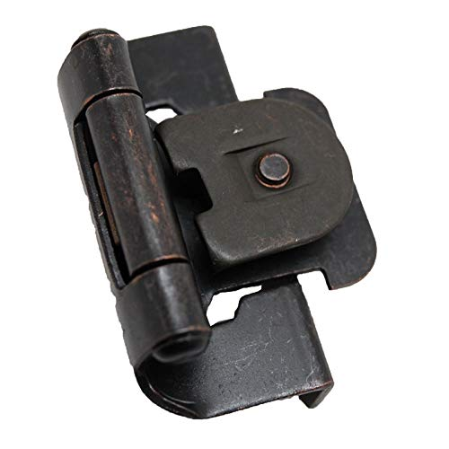 Pair Steel 1/2'' Single Demountable Hinge Oil Rubbed Bronze 9871910