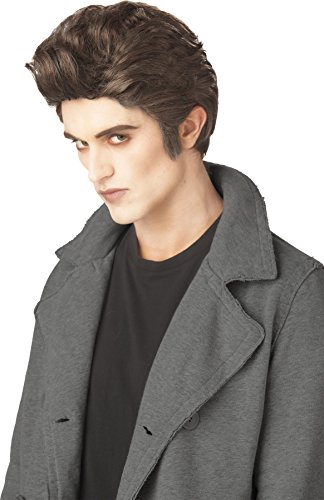 UHC Edward Cullen Love At First Bite Vampire Brown Wig Costume Accessory (Love Bite Vampire Costume)