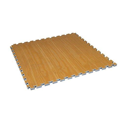 Century Wood Grain Puzzle Mat (2-Pack)