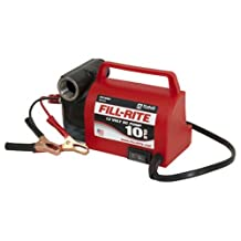 "Fill-Rite FR1612 Portable Diesel Fuel Transfer Pump-12 V DC, 10 GPM, 1/5 HP, 3/4"" NPT Inlet, No Nozzle"