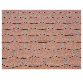 Kit shingle queue de castor brique de 3m² pour abri de jardin Solid