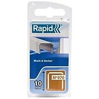 Rapid Klammer für Black und Decker Produkte Typ 970/10 mm, 900 Stück Blister, 40109551