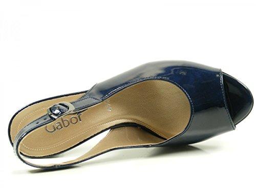Gabor 61.831.76 - Sandalias de vestir para mujer Blau