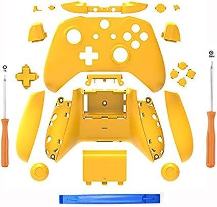 SN-RIGGOR - Juego Completo de Carcasa de Repuesto para Mando de Xbox One S Slim (Conector para Auriculares de 3,5 mm): Amazon.es: Electrónica