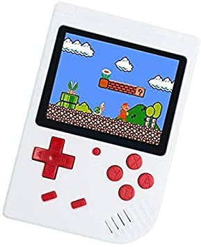 MOBIZU SUP 400 in 1 Retro Game Box Console Handheld Game PAD Box with TV Output Gaming Console 8 GB with Mario/Super Mario/DR Mario/Contra/Turtles and Other 400 Games (Multicolor)