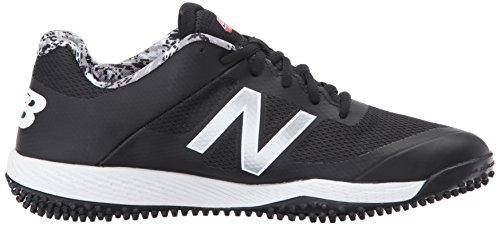 Nuovo Equilibrio Mens T4040v4 Turf Scarpe Da Baseball Nero Camo