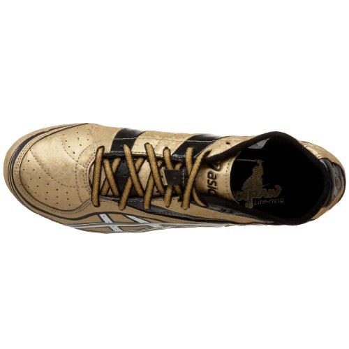 Asics Mens Japan Lite-ning 2 Chaussure Dathlétisme Gold / White / Black