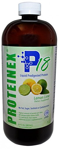 Proteinex Oral Protein Supplement Lemon-Lime Flavor 30 oz. Bottle Ready to Use, 54859-535-30 – Case of 6