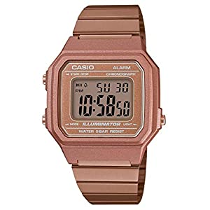 Casio – Montre Casio Collection doré Rose (b650wc-5aef)