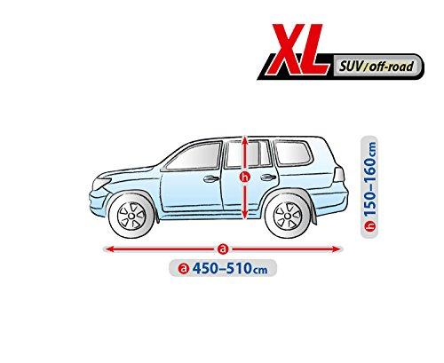 L SUV BD-BASIC-09-L SUV Vollgarage Universelle Autoabdeckung Schutzh/ülle Faltengarage Kegel Blazusiak Autoplane Basic Line